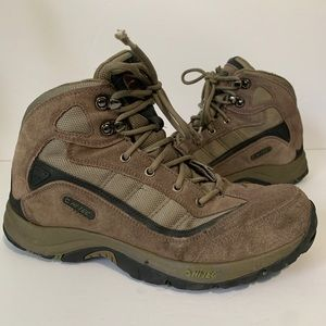 HI-TEC Karoo Mid OS09-041 Brown Hiking Boots sz 9